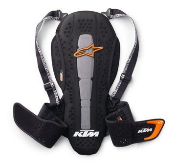 Picture of Nucleon KR-2 Back Protector //3PW1610202//