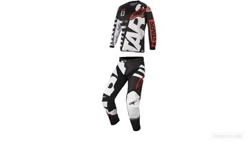 Afbeeldingen van Alpinestars 2018 Jeugd Racer Braap Crosspak Zwart Wit Rood