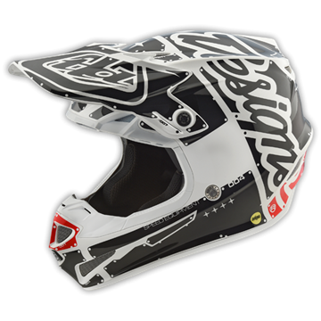 Picture of Troy Lee Helm SE4 2018 Wit