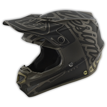 Afbeeldingen van Troy Lee Helm SE4 2018 Factory Gray