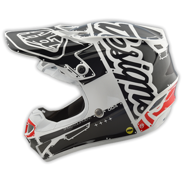 Picture of Troy Lee Kinderhelm 2018 SE4 Wit