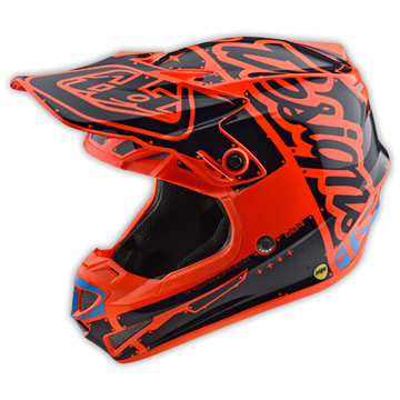 Picture of Troy Lee Kinderhelm 2018 SE4 Oranje