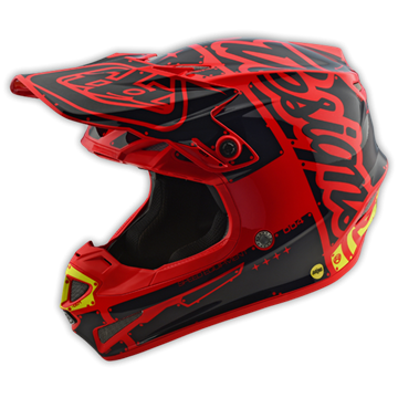 Picture of Troy Lee Kinderhelm 2018 SE4 Rood