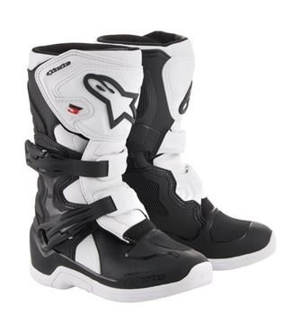 Picture of kinderlaarzen tech3s alpinestars zwart/wit