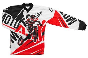 Picture of Jopa moto-x kleding set baby - Rood