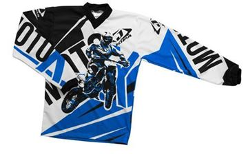 Picture of Jopa moto-x kleding set baby - Blauw