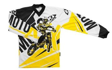Picture of Jopa moto-x kleding set baby - Geel