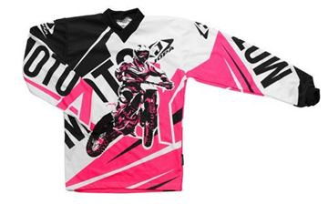 Picture of Jopa moto-x kleding set baby - Roze