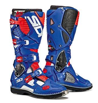 Picture of Sidi crossfire 3  -   White Blue Red fluo