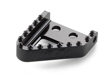 Picture of ktm54813951100//Brake pedal step plate//FREERIDE 250 R -17,FREERIDE 350 -17