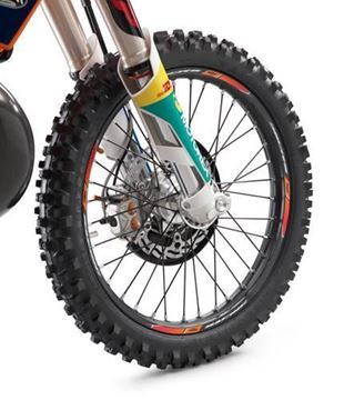 Afbeeldingen van ktm78109999000//Wheel trim ring sticker kit//FREERIDE 250 R -17FREERIDE 250 F 18FREERIDE 350 -17FREERIDE E-SX/E-XC