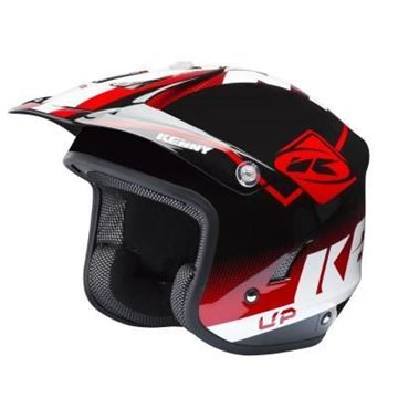 Afbeeldingen van Trial helm 2018  - Red Black White -  181-0403031-5727