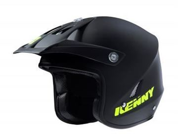 Afbeeldingen van Trial helm 2018  - Matt black Neon yellow -  181-0403031-5727