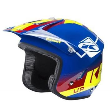 Afbeeldingen van Trial helm 2018  - Blue Red yellow -  181-0403031-5763
