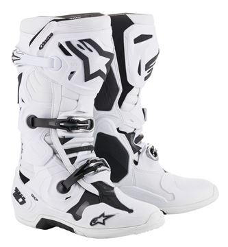 Picture of Alpinestar TECH10 BOOTS 2019 - White