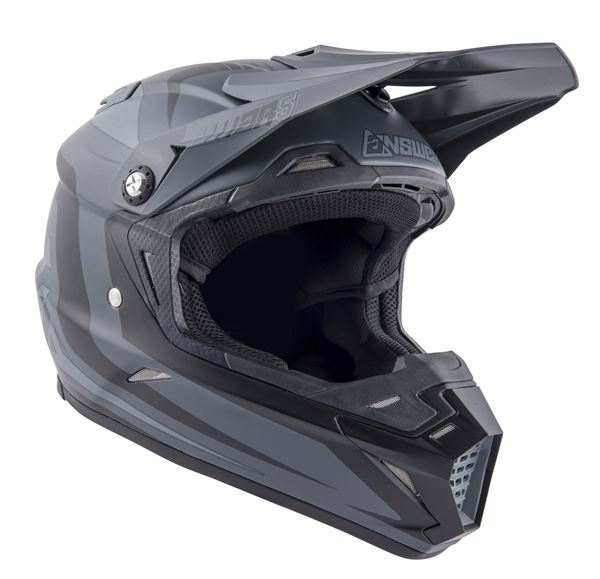 Afbeelding van Answer AR5 Helm - Black/Grey