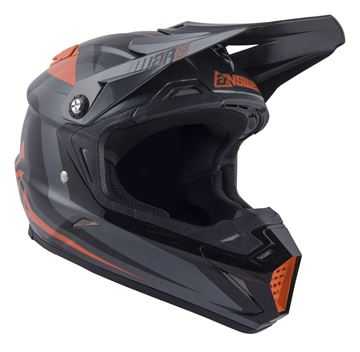 Afbeeldingen van Answer AR5 Helm - Grey/Orange