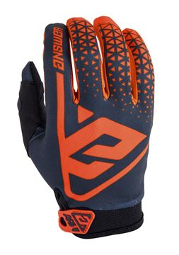 Afbeeldingen van Answer AR1 Youth Gloves - Grey/Orange