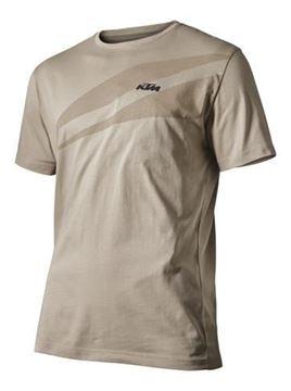 Afbeeldingen van KTM Unbound t-shirt Sand - 3pw1956101