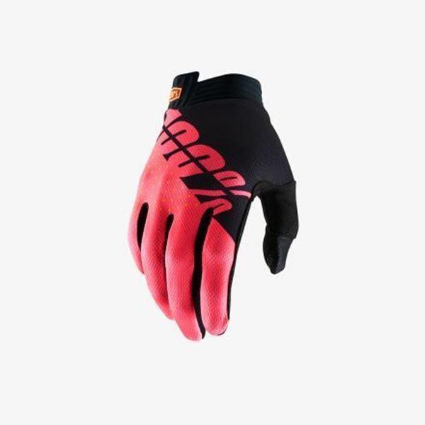 Afbeelding van 100% Handschoen iTrack - Black/Fluo Red