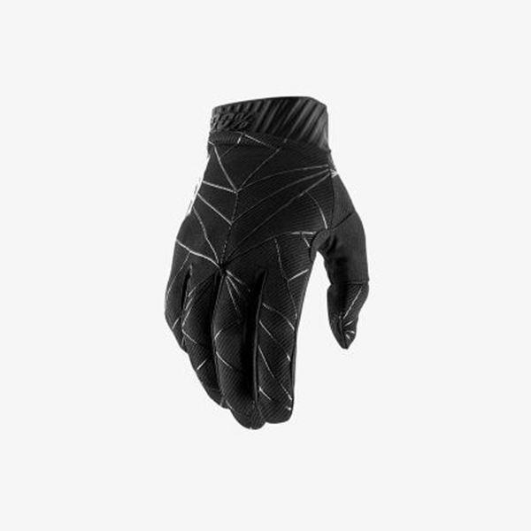 Afbeelding van 100% Handschoen RideFit - Black/White