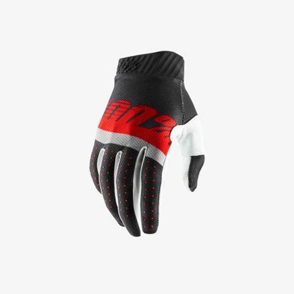 Afbeelding van 100% Handschoen RideFit - Grey/Red