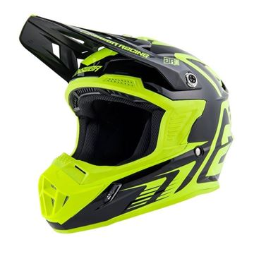 Picture of Answer AR1 Youth Helmet - Black/Acid