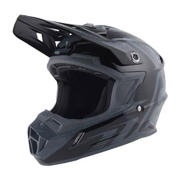 Afbeeldingen van Answer AR1 Youth Helmet - Black/Charcoal