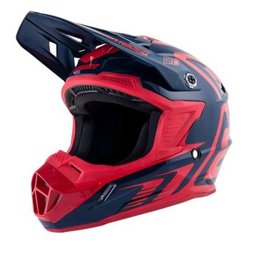 Afbeeldingen van Answer AR1 Youth Helmet - Midnight/Red