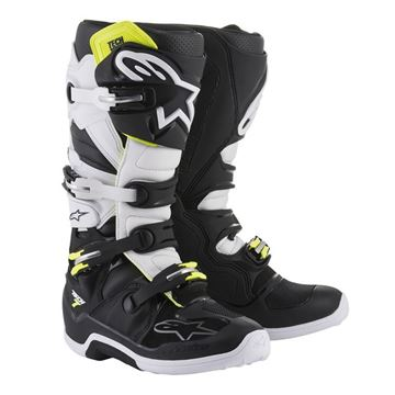 Afbeeldingen van TECH 7  MX BOOT - Black/White