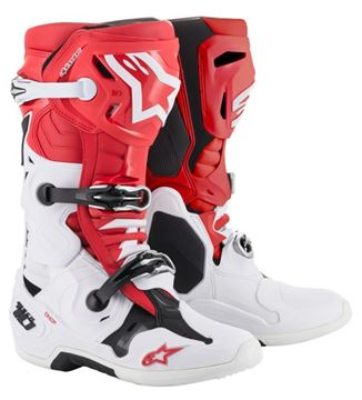Afbeeldingen van TECH 10 BOOT - Red/White/Black