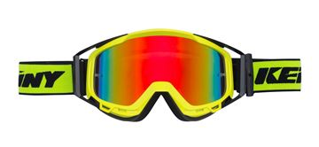 Picture of ADULT PERFORMANCE GOGGLES BLACK NEON YELLOW