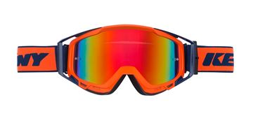 Picture of ADULT PERFORMANCE GOGGLES NAVY NEON ORANGE