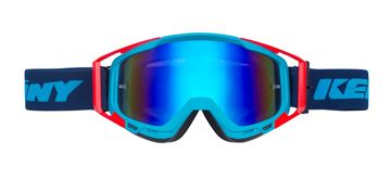 Picture of ADULT PERFORMANCE GOGGLES NAVY NEON RED