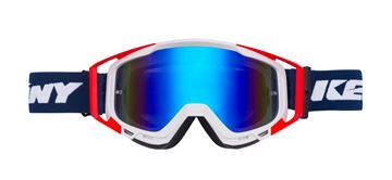 Picture of ADULT PERFORMANCE GOGGLES NAVY WHITE RED