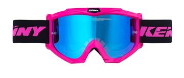Picture of ADULT TRACK + GOGGLES NEON PINK
