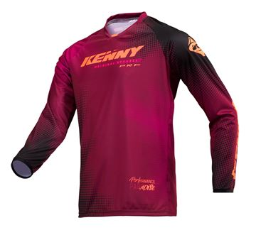 Picture of ADULT PERFORMANCE JERSEY PARADISE BURGUNDY