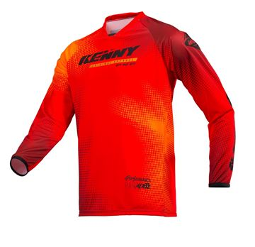 Picture of ADULT PERFORMANCE JERSEY PARADISE RED