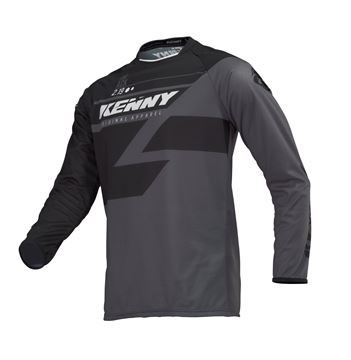 Picture of ADULT TRACK JERSEY BLACK GREY