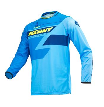 Picture of ADULT TRACK JERSEY FULL BLUE