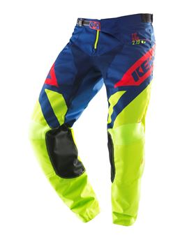 Afbeeldingen van ADULT TRACK PANTS LIME NAVY RED