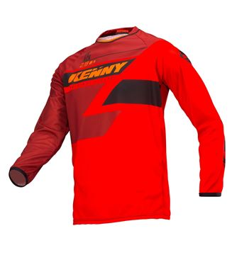 Picture of KIDS TRACK JERSEY FULL RED