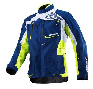 Picture of TITANIUM JACKET NEON YELLOW BLUE