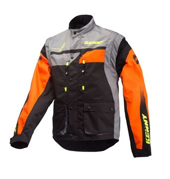 Picture of TRACK JACKET ORANGE GREY