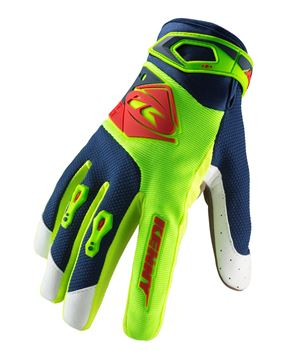 Afbeeldingen van KIDS TRACK GLOVES LIME RED