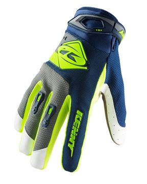 Picture of KIDS TRACK GLOVES NAVY LIME