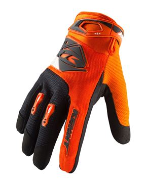 Afbeeldingen van KIDS TRACK GLOVES ORANGE