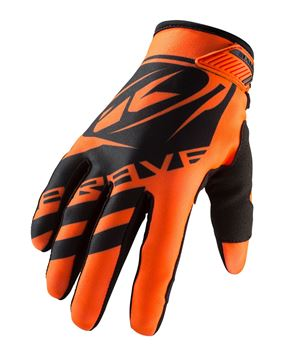 Afbeeldingen van KIDS BRAVE GLOVES NEON ORANGE