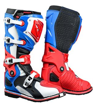 Picture of TITANIUM BOOTS BLUE WHITE RED