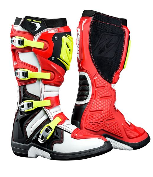 Picture of PERFORMANCE BOOTS RED